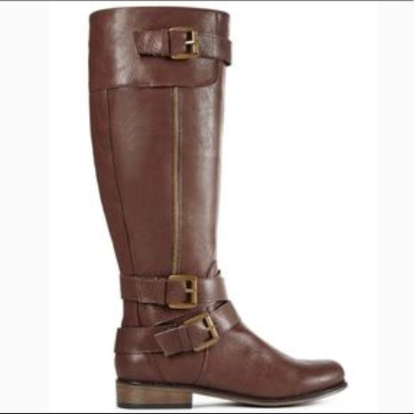 Brown Daphne boots- JustFab- NWT fb4f9cca4